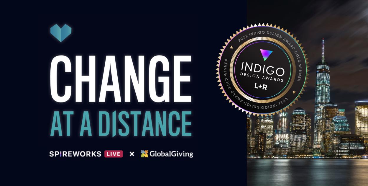 L+R wins Gold Indigo Award for Spireworks Change at a Distance program